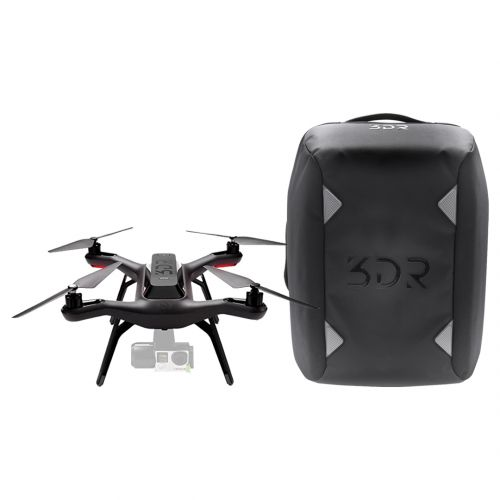 Dron 3DR Quadcopter Solo y Backpack kitFM